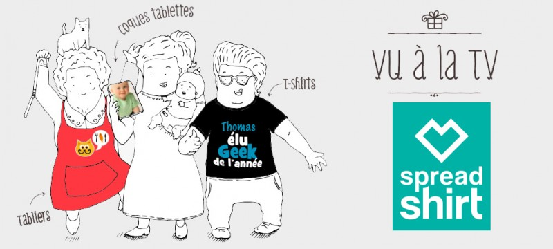 Les Villages Clubs du Soleil ouvrent leur boutique Spreadshirt !