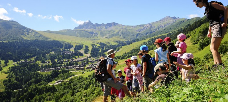 Vos enfants à la montagne