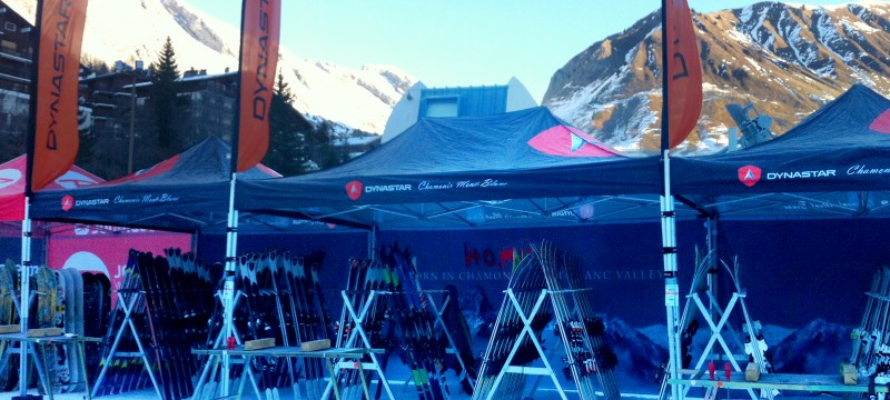 Ski test avec Dynastar