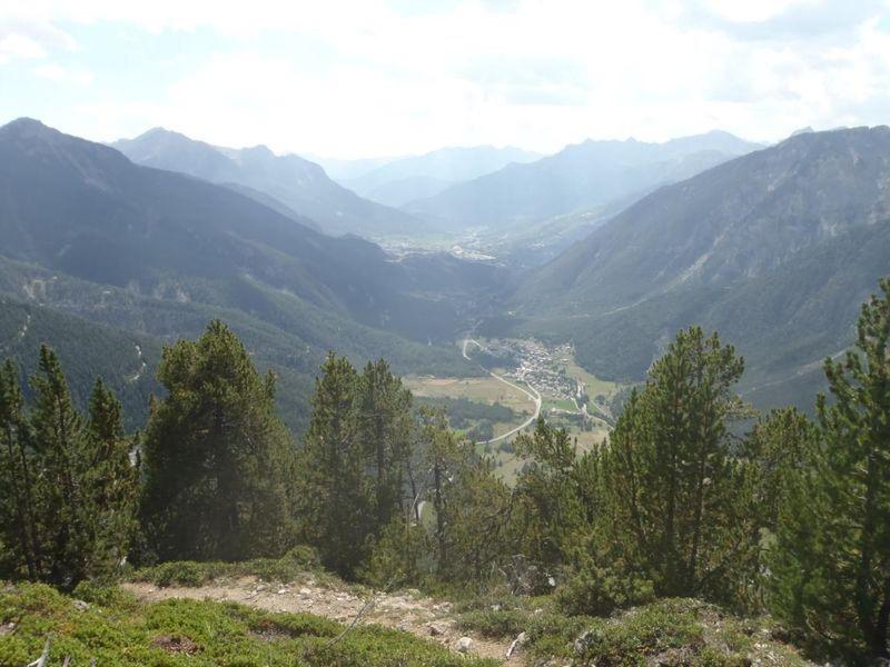 le rocher diseur randonnée à Montgenevre