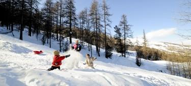 Activités à la neige pour vos enfants
