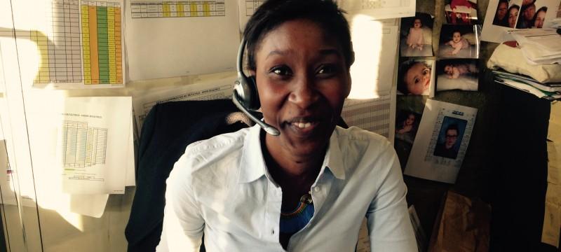 Rencontre avec Nicole, adjointe de la responsable réservation