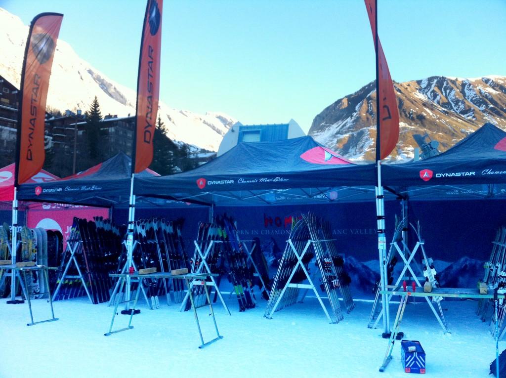 Ski test Dynastar aux Villages Clubs du Soleil