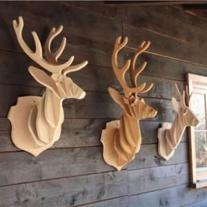 cerfs decoration intérieur