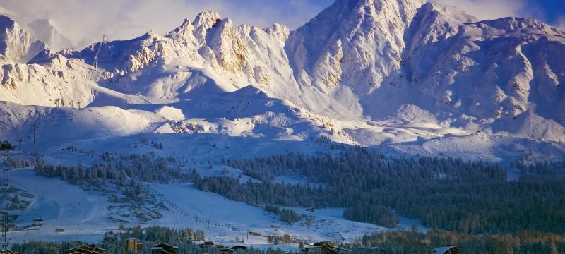 Quand la montagne se prépare à l'hiver