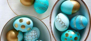 Idées fraîches pour jolis œufs de Pâques