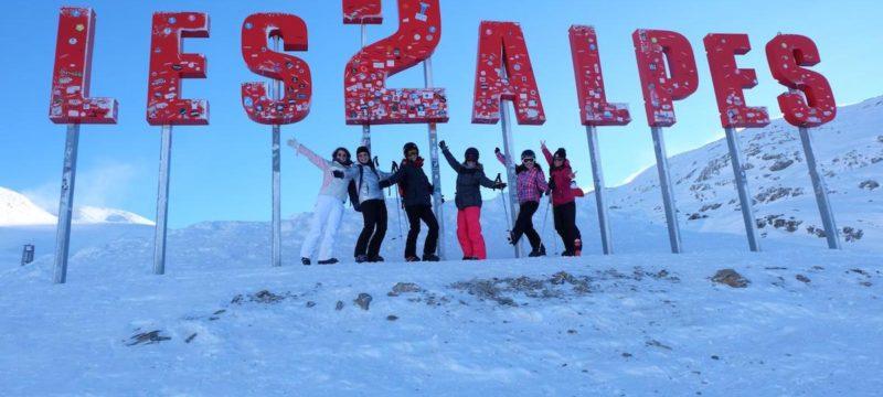 A la découverte de notre nouvelle destination : Les 2 Alpes !
