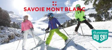 Le Printemps du Ski s'installe dans les stations de Savoie Mont Blanc dès le 20 mars !